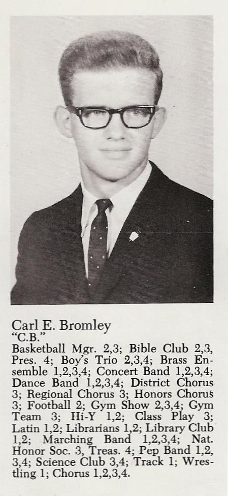 Carl Bromley Class of 1969