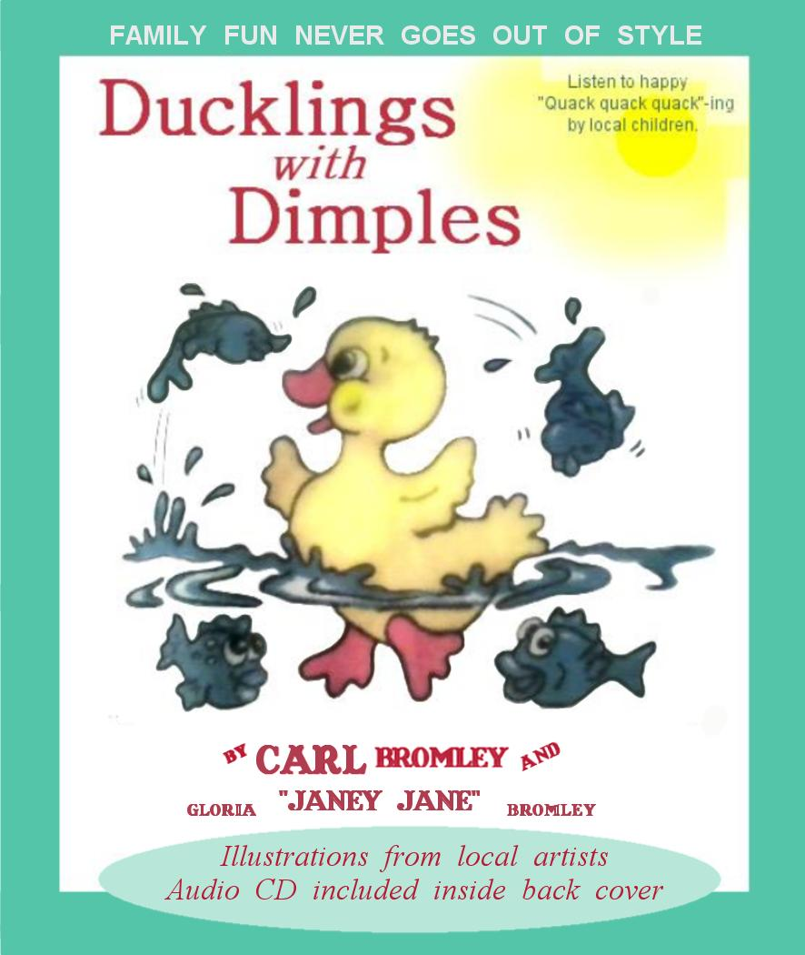 book cover Ducklings with Dimples